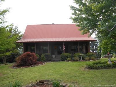 Poteau Single Family Home For Sale: 23012 Shadetree Lane