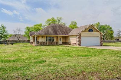 Claremore Single Family Home For Sale: 8872 Odie Street
