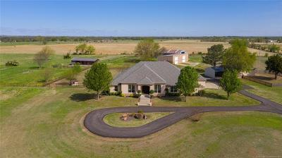 Collinsville Single Family Home For Sale: 401744 W 4100 Road