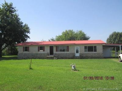 Muskogee Single Family Home For Sale: 11635 S Hwy 64