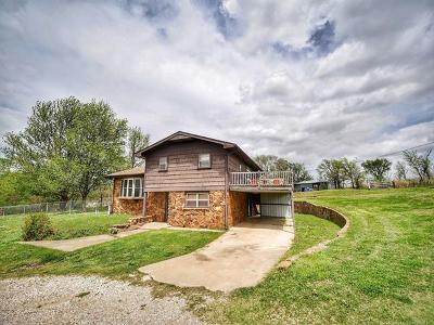 Pawhuska Single Family Home For Sale: 1608 Lynn Road