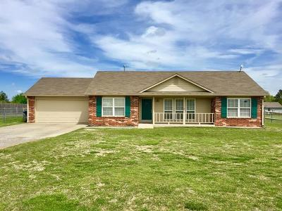 Claremore Single Family Home For Sale: 14853 E Modoc Street