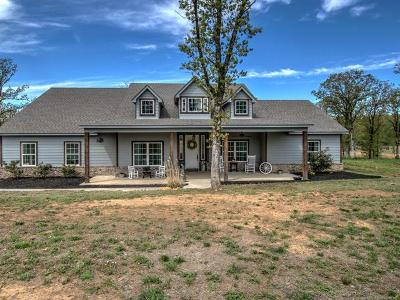 Creek County Single Family Home For Sale: 12294 Sunset Lane