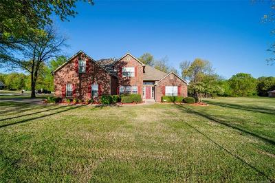 Coweta Single Family Home For Sale: 14680 S 241st East Avenue