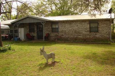Talihina Single Family Home For Sale: 53985 W Us Hwy 271