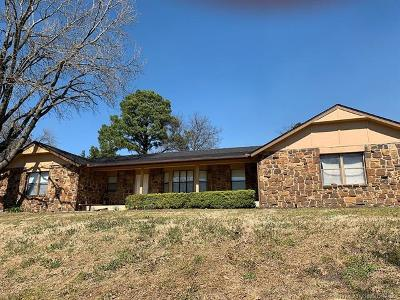 Okmulgee County Single Family Home For Sale: 1805 Parkview Drive