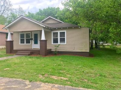 Ada Single Family Home For Sale: 919 E 8th Street
