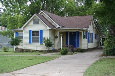 Okmulgee County Single Family Home For Sale: 608 W Ragan Street