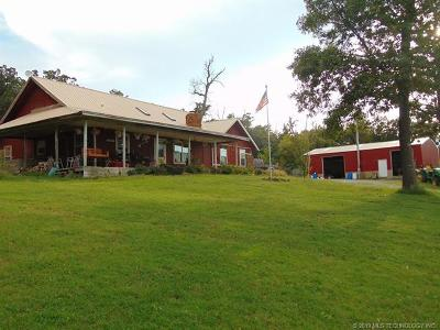 Pryor Single Family Home For Sale: 7051 496 Road