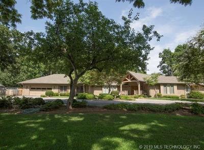Tulsa Single Family Home For Sale: 4141 S Lewis Avenue