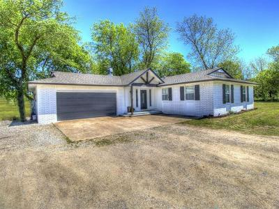 Collinsville Single Family Home For Sale: 11423 E 176th Street North