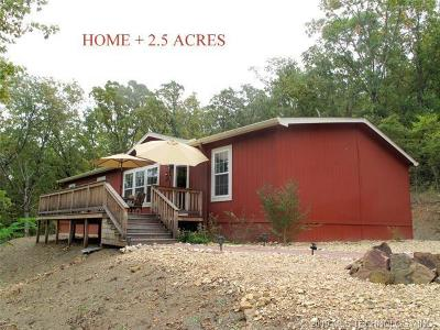 Cookson OK Manufactured Home For Sale: $179,900