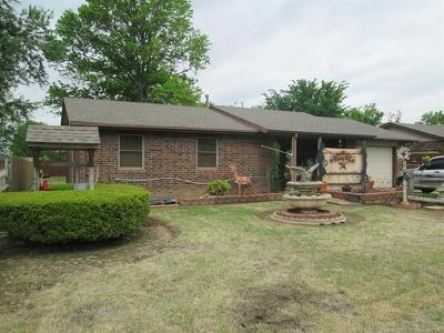 Fort Gibson Single Family Home For Sale: 313 National Boulevard
