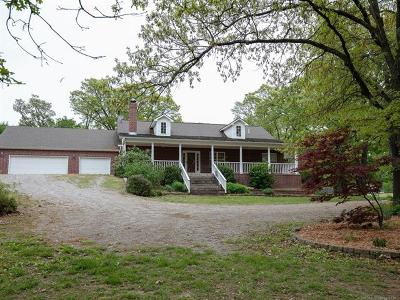 Claremore Single Family Home For Sale: 21552 S Glenwood Drive