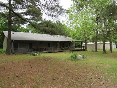 Stigler Single Family Home For Sale: 564 W Brooken Mt Road