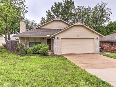 Sapulpa Single Family Home For Sale: 710 S Division Street
