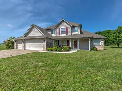 Collinsville Single Family Home For Sale: 40223 N 3990 Road