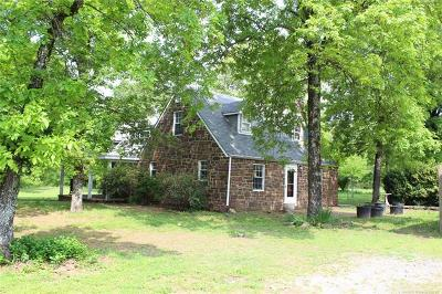 Tahlequah Single Family Home For Sale: 23481 S 472 Road