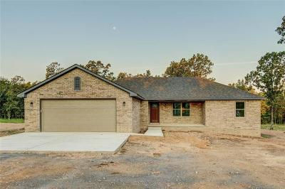 Tahlequah Single Family Home For Sale: 16375 N 573 Road