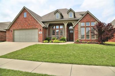 Jenks Single Family Home For Sale: 12518 S Cedar Place