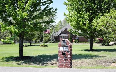 Fort Gibson OK Single Family Home For Sale: $414,000