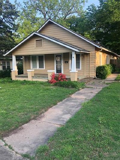 Bristow Single Family Home For Sale: 330 W 6th Avenue