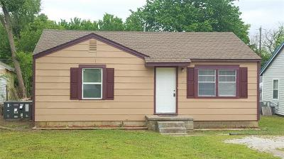 Collinsville OK Single Family Home For Sale: $80,000