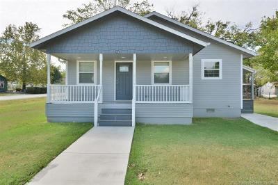 Beggs Single Family Home For Sale: 701 N Osage Street