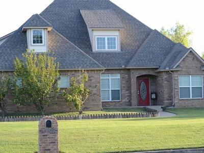 Muskogee Single Family Home For Sale: 4009 Eagle Crest Drive