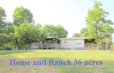 Park Hill Manufactured Home For Sale: 17350 W 877 Road
