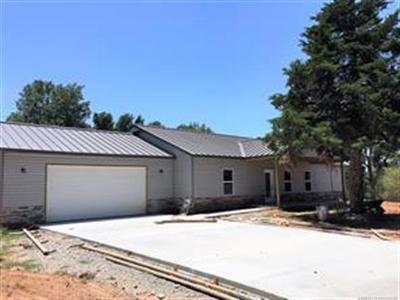 Sand Springs Single Family Home For Sale: 110 Maple Circle