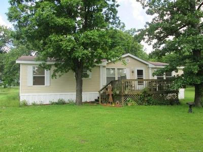 Fort Gibson OK Manufactured Home For Sale: $124,000