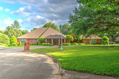 Muskogee Single Family Home For Sale: 2833 Hickory Creek Road