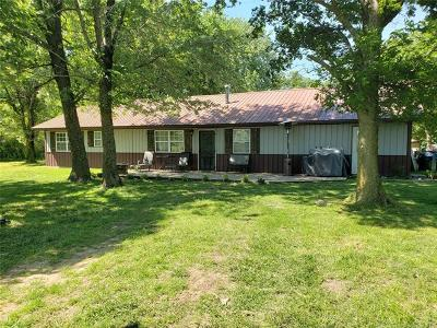 Tahlequah OK Single Family Home For Sale: $170,000