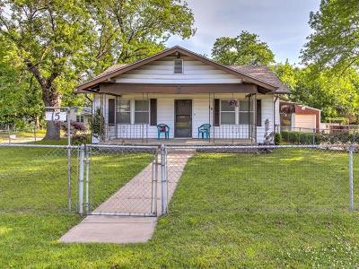 Sapulpa Single Family Home For Sale: 15 E Burnham Avenue