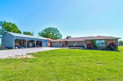 Ramona Single Family Home For Sale: 31760 W 4000 Road