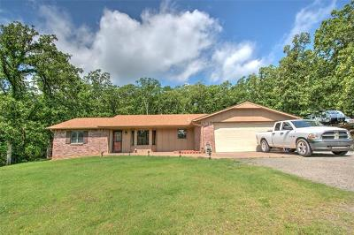 Muskogee Single Family Home For Sale: 2511 S 77th Street E