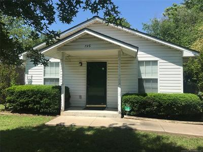 Muskogee Single Family Home For Sale: 728 Hartford Street
