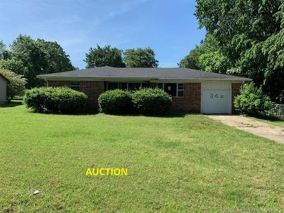 Muldrow Single Family Home For Sale: 300 5th Street