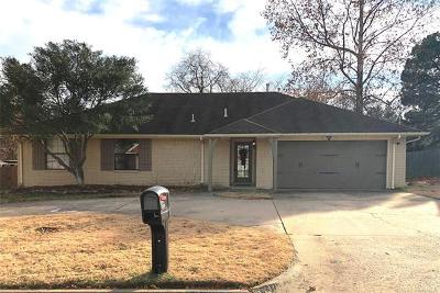 Muskogee Single Family Home For Sale: 2817 Kimberlea Drive