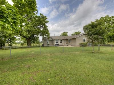 Claremore Single Family Home For Sale: 17791 S 4180 Road