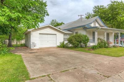 Sapulpa Single Family Home For Sale: 116 S Division Street
