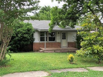Ada Single Family Home For Sale: 610 W 18th Street