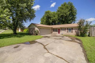 Broken Arrow OK Single Family Home For Sale: $120,000