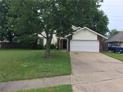Broken Arrow Single Family Home For Sale: 4001 S Narcissus Avenue