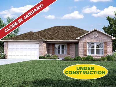 Coweta Single Family Home For Sale: 14837 S 274th East Avenue