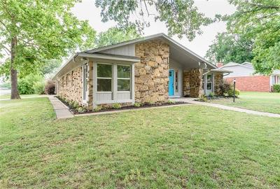 Broken Arrow OK Single Family Home For Sale: $188,500