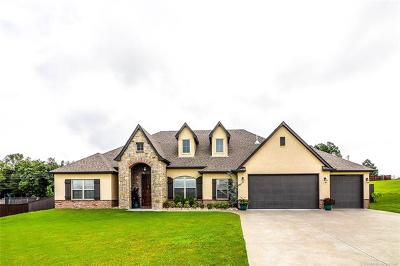 Claremore Single Family Home For Sale: 19481 Pecan Ridge Circle
