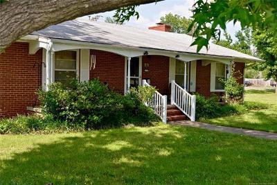 Okmulgee Single Family Home For Sale: 1717 E 9th Street
