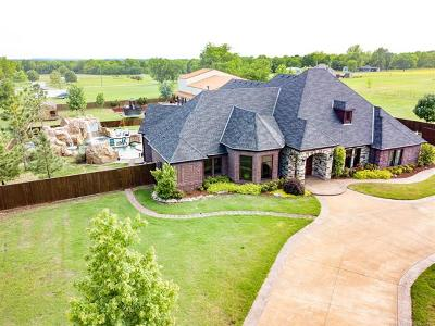 Broken Arrow OK Single Family Home For Sale: $1,240,000